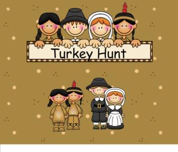 Smartboard Turkey Hunt Game