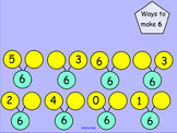 Smartboard: Ways to Make 6-10