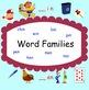 Smartboard: Word Families (at, an, in, en)