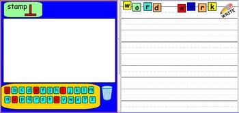 Smartboard: Word Work Daily 5