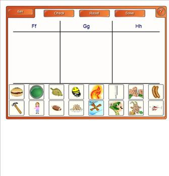 Smartboard  Word Work for Orange A Leveled Literacy Intervention LLI 1st Edition
