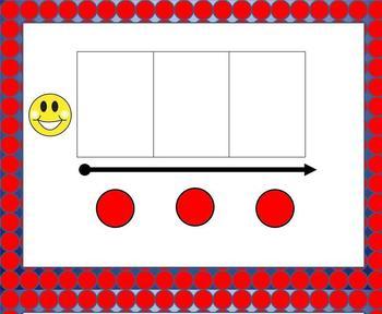 Smartboard  Word Work for Orange Level B Leveled Literacy Intervention LLI
