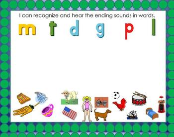 Smartboard Word Work for Orange Level C Leveled Literacy Intervention LLI
