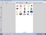 Smartboard activity for Initial Sounds Bb, Cc, Ch, Dd, Ff,