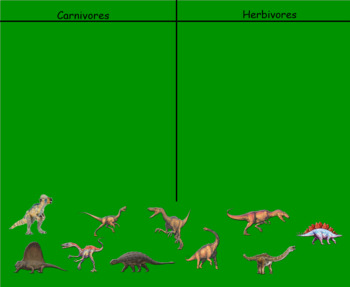 Smartboard and Worksheet Dinosaur Activities