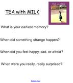 "Smartboard for Allen Say's ""TEA with MILK"""