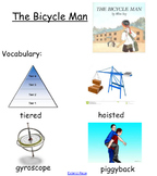 """Smartboard for Allen Say's """"The Bicycle Man"""""""