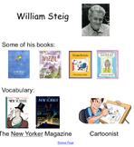 Smartboard for William Steig Biography