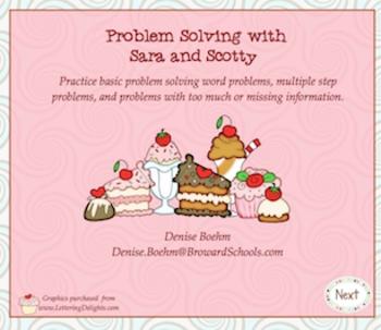 Smartboard interactive problem solving
