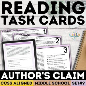 Smarter Balance Informational Text Task Cards