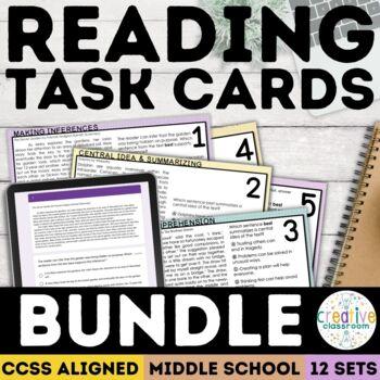 Smarter Balanced Task Card Complete Set