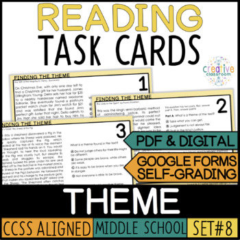 Smarter Balance Theme Task Cards
