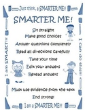 Smarter Balanced Assessment SBAC Posters for Test Taking