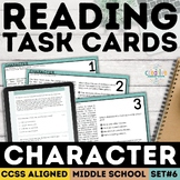 Smarter Balanced Character Traits Task Cards