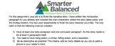 Smarter Balanced (SBAC) Complete The Narrative Practice #1