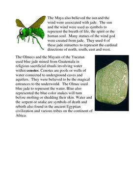 Smarter Balanced ELA Activity:  Jade of Mesoamerica and China