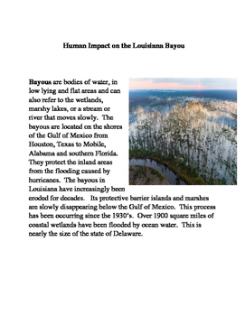 Smarter Balanced ELA Practice: Human Impact on the Louisiana Bayou