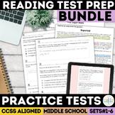 Smarter Balanced ELA Practice Test Bundle