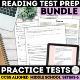Smarter Balanced ELA Practice Test Bundle
