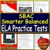 Smarter Balanced Test Prep (SBAC) Bundle ELA for Grades 6, 7 and 8