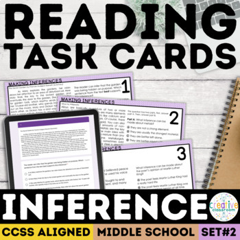 Inference Task Cards (SBAC)
