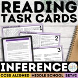 Making Inferences Task Cards   PDF & Digital   Distance Learning