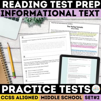 Smarter Balanced Informational Text Practice