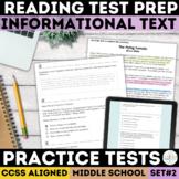 SBAC Informational Text Reading Passages   PDF & Digital  