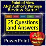 Smarter Balanced Point of View AND Author's Purpose Game - Test Prep CAASPP