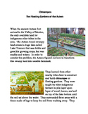 Smarter Balanced Practice   Chinampas: the Aztec Floating Gardens