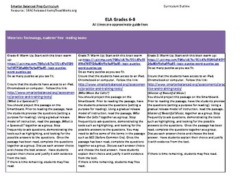 Smarter Balanced Prep Curriculum for Grades 6-8