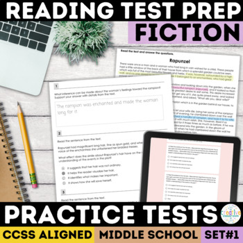 Smarter Balanced Fiction Reading Passages (SBAC)