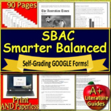 8th Grade Smarter Balanced Test Prep Practice Tests (SBAC) - ELA Unit Test 3