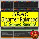 Smarter Balanced Test Prep (SBAC) ELA Raise scores playing 15 fun games! CAASPP