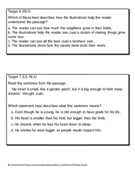 Smarter Balanced Style Questions for Journeys (2011 ed.) 3rd grade- Unit 2
