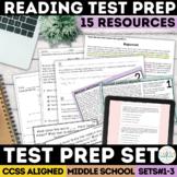 Smarter Balanced Test Prep Bundle Complete Set | Print & D