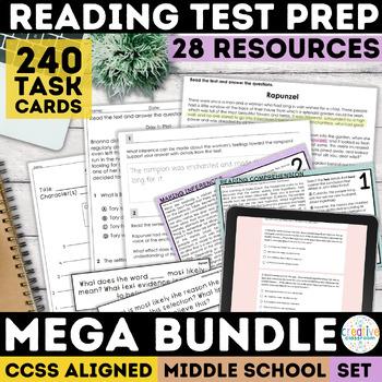 Smarter Balanced ELA Test Prep Mega Bundle (SBAC)