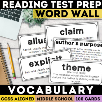 Smarter Balanced Test Prep Vocabulary