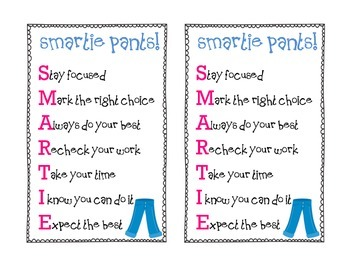photo regarding Smartie Pants Printable named Smarty Trousers Screening Worksheets Training Components TpT