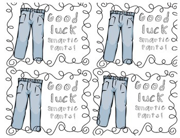 image relating to Smartie Pants Printable called Smarty Trousers Attempt Worksheets Instruction Components TpT