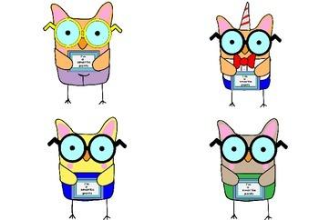 Smartie Pants Owls - FREEBIE