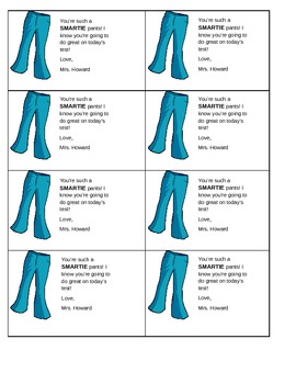 Smartie Pants Standardized Testing Treat