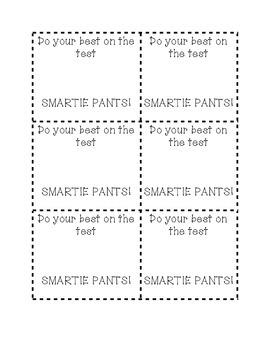 Smartie Pants Testing Treats
