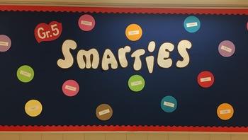 Back to School Bulletin Board for Smarties