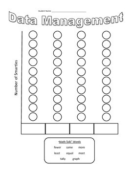 Smarties Math - Sorting and Graphing Activity {FREEBIE}