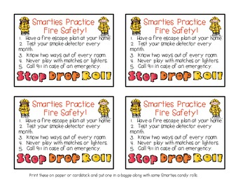 Smarties Practice Fire Safety Tips With Blaze the Dalmatian