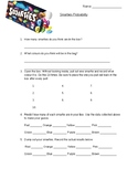 Smarties Probability worksheet