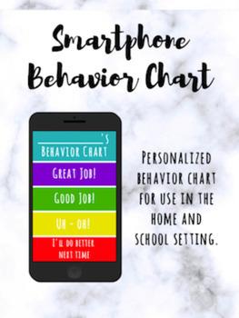 Smartphone Behavior Chart