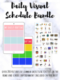 Visual Schedule BUNDLE (PASTEL and BOLD Colors)