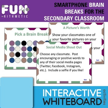 Smartphone Brain Breaks for the Secondary Classroom